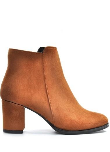 Vizon Ayakkabı Bot Taba